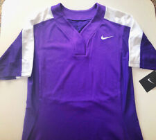 Nike Women's Dri-Fit Softball/Baseball Top S Purple