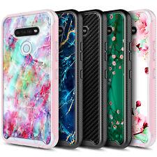Para LG Stylo 6 caso cubierta de teléfono Ultra delgado con construido en protector de pantalla