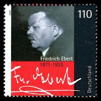 Germany 2000 - Death of Friedrich Ebert, 1871-1925 - Sc 2069 MNH