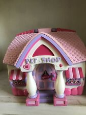 Minnie Mouse Pet Shop Disney Store Magic Play Playset Princess Mickey Bowtique