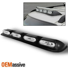 Fits Roof Top 4X4 Off Road SUV/Truck Clear Fog Lights Bar W/Bulbs+Wiring+Switch