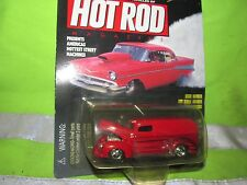 40 ford delivery RED HOT ROD mag Racing Champions 1/57 1 OF 19,998