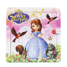 1 PCS Wooden Sophia Jigsaw Puzzles Toys for Boys and Girls Ages 3+ (Sophia-W)
