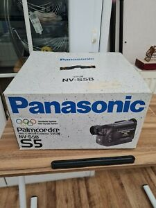 Vintage PANASONIC Palmcorder VHS-C Movie Camera Camcorder NV-S5B  Spares Repairs
