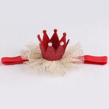 Cute Kids Baby Girl Toddler Lace Crown Hair Band Headwear Headband Accessories