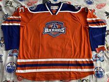 Keith Aulie #5 Oklahoma City Barons Reebok Jersey 2014 4XL AHL OKC Hockey