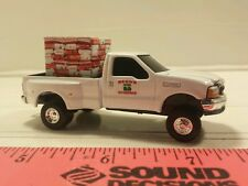 1/64 CUSTOM Ford f350 becks hybrids TRUCK WITH seed corn probox ERTL farm toy