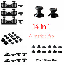 Ps4 & xbox1 controller levette analogiche 14in1 rimovibili aimsticks in trasla altezze
