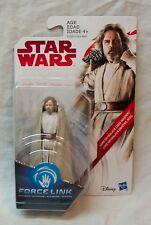 "Star Wars The Last Jedi Luke Skywalker Jedi Master 4"" Action Figure Toy New"