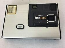 Kodak Disc 4000 Camera Silver Shutter Clicks Quickly