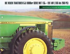 John Deere Serie 8000er, ORIG. prospetto Poster Incl. 1995