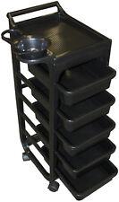 Friseurboy Servicewagen Gerätewagen Friseurwagen Studio Rack 1780 schwarz