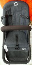 Bugaboo Stroller in Denim + Travel Case & Extras