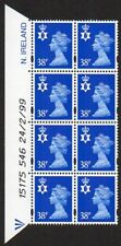 Northern Ireland Sc. #Nimh82 38p Machin date block Mnh