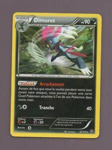 Pokémon Nr. 61/114 - Snibunna - PV90 (B514)