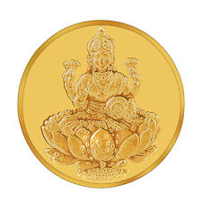 RSBL eCoins Lakshmiji 5 gm Gold Coin 24kt purity 995 Fineness- WITH TAX INVOICE