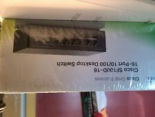 Cisco (Sf100-16) 16-Ports Rack-Mountable Ethernet Switch