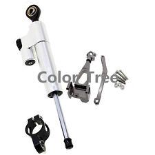 For YAMAHA MT-09 2015 2014 Steering Damper Stabilizer CNC Bracket Mounting Kit