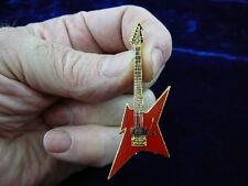 (M301-A) B C Rich IRONBIRD electric guitar PIN brooch JEWELRY pick 1 of 4 colors