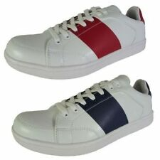 Striped Synthetic Shoes for Men