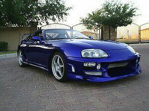 Toyota Supra JZA80 Bomex Style Front Bumper