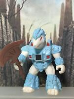 Battle Beasts Pillaging Polar Bear #48 complete with Rub & Weapon TAKARA Hasbro