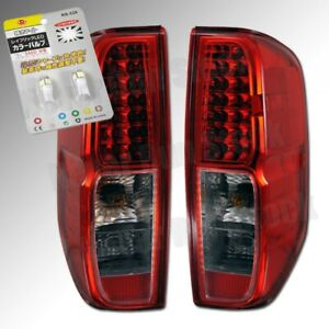 FOR NISSAN FRONTIER OE FACTORY LOOK LED TAIL LIGHTS + WHITE LICENSE PLATE BULBS