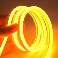 1-5m Flexible tira de LED Lámparas De Tubo Silicona Impermeable las luces de neón SMD2835 DC12V