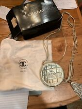 Chanel Gold Vintage Crossbody With Tassle
