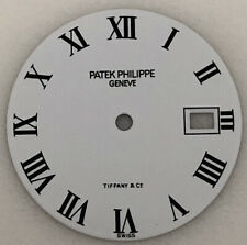 White dial 100% Authentic Ladies Patek Philippe Calatrava Tiffany & Co