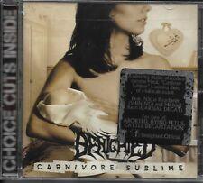 BENIGHTED-CARNIVORE SUBLIME-CD-brutal-death-metal-cattle decapitation-kronos