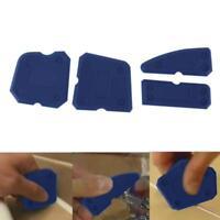 4pcs Joint Sealant Silicone Grout Caulk Hand Tool Set Remover Scraper Applicator