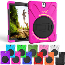 For Samsung Galaxy Tab S2 S3 T710 T810 T820 Rotating Heavy Duty Hard Case Cover