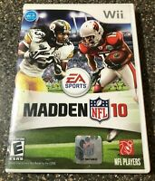 Madden NFL 10 - Nintendo Wii - Complete w/ Manual - Clean & Tested - Free Ship