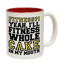 Funny Mugs Ill Fitness Whole Cake In My Mouth Kitchen NOVELTY MUG secret santa