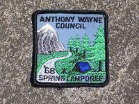 BSA Boy Scout Anthony Wayne Council 1968 Patch Boy Scout Patch Vintage