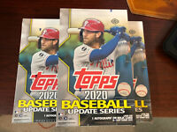 FACTORY SEALED 2020 TOPPS UPDATE HOBBY BOXES ROOKIES, INSERTS, AUTOS