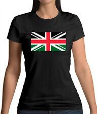 Kenya Union Jack Flag - Womens T-Shirt - Kenya - Flags - Nairobi - Travel