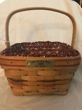 1996 Longaberger Bee Basket, Light The Fire Within