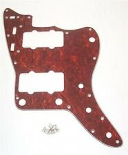 RIGHT HANDED SCRATCHPLATE FOR FENDER 1962 JAZZMASTER / FAUX TORTOISE SHELL