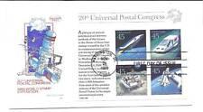 C126 Future Mail Transportation S/S Farnam, HF, FDC