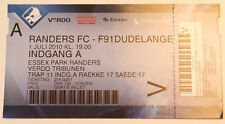 old TICKET CWC Randers FC Denmark - F91 Dudelange Luxembourg