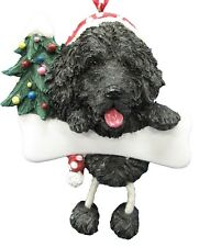 Newfoundland ~ Dangling Dog Ornament #25