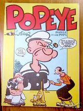 POPEYE ET SON POPA Futuropolis 1988 offert par Total