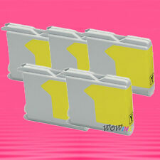 5P LC51Y YELLOW INK CARTRIDGE FOR BROTHER DCP 130C 340C