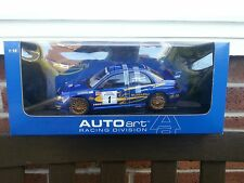 AUTOart 1/18 SUBARU IMPREZA SCCA Pro Rally 2001 ltd edition Lovell/Turvey 80291