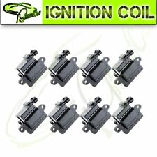 Pack of 8 New Ignition Coils D581 for Chevy Gmc Cadillac 5.3L 6.0L 8.1L 4.8L