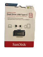 SanDisk 128GB OTG Type-C Ultra Dual Flash Pen Thumb Drive Speed up to 150MB/s
