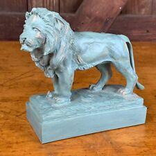 Rare The Art Institute Of Chicago Museum Shop Lion Statue 2000