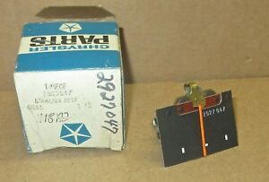 Mopar 1969 1970 Plymouth Fury ammeter gauge 2927047 NOS,  40 amp
